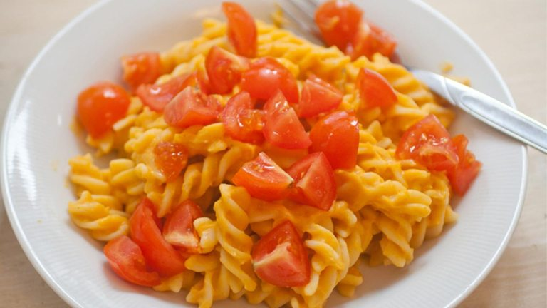 Low-fat, Cheezy, Vegan Pasta Recipe