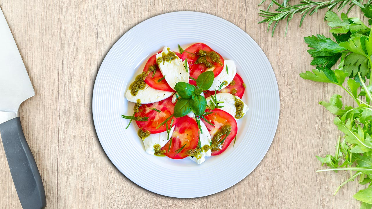 Tomato Caprese Recipe - Delicious and Beautiful