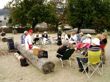 Beach BBQ at Ambleside Beach