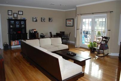 215 Grand #4F Living Room