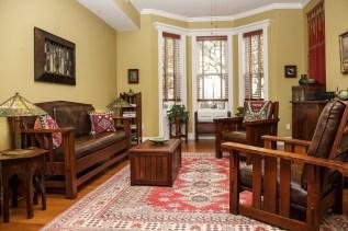 1022 Hudson St 1 - living room