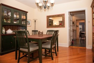 828 Hudson St 1 - dining room