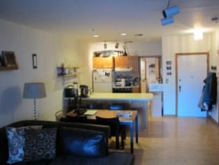 72 Park Ave 1B - towards kitchen