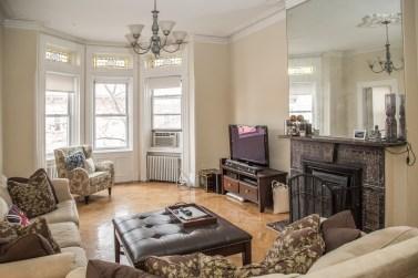 917 Washington St #3 - living room