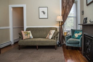 1009 Willow Avenue #2R - living room