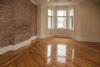 1030 Hudson St #10 - living room