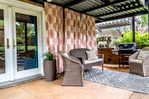 509 Garden St #1 - Patio