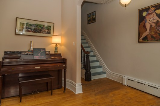 162 9th St - living room and stairs