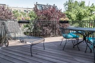817 Garden St - deck