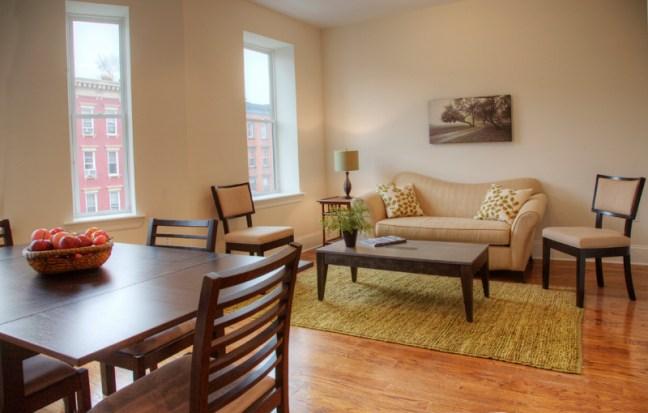 815 Washington St #4 - living room