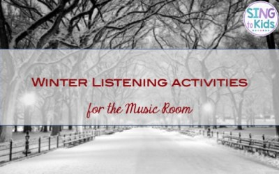 Winter Listening Activities for the Music Room