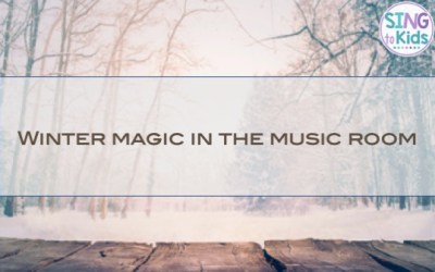 Winter Magic in the Music Room