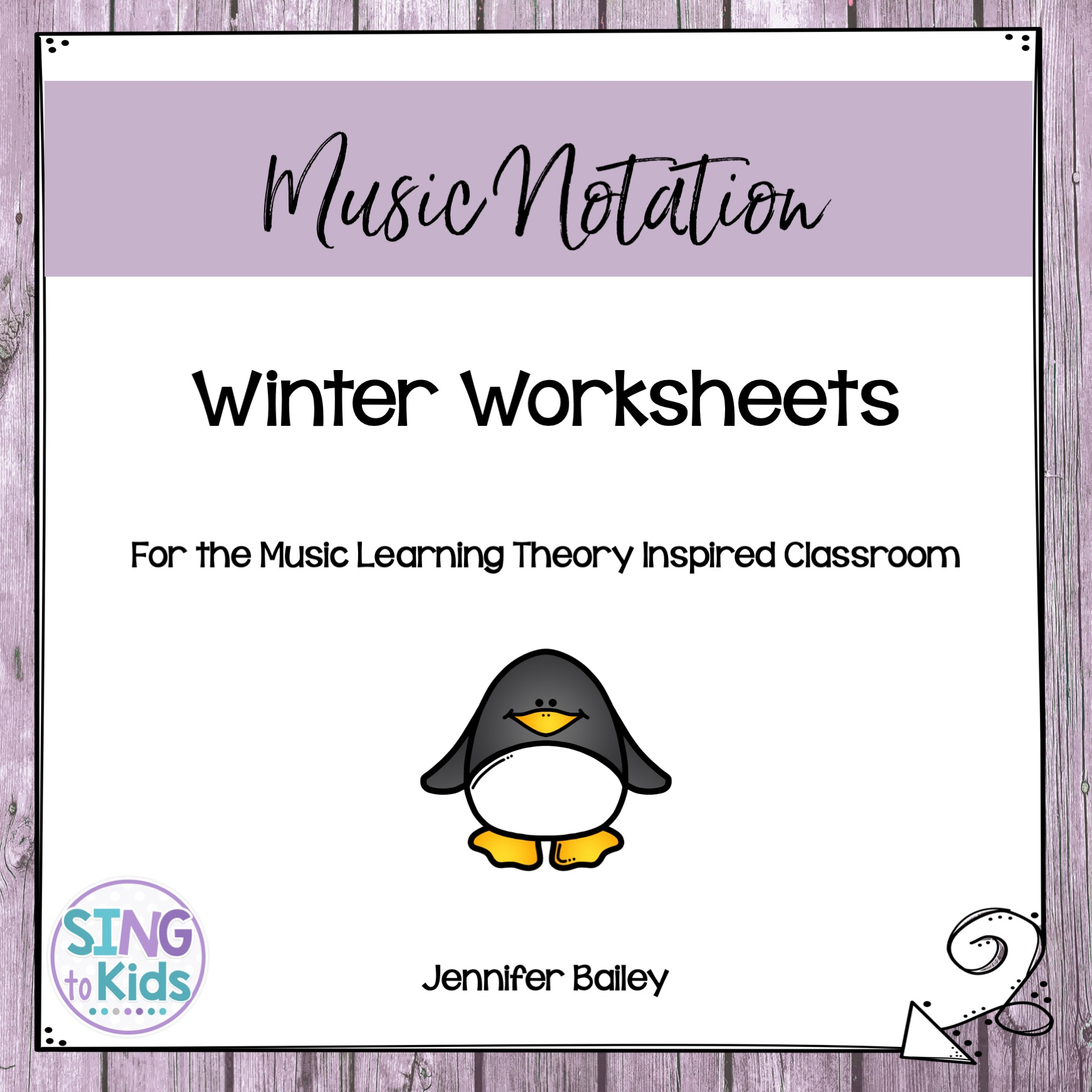 Winter Worksheets For The Music Learning Theory Inspired