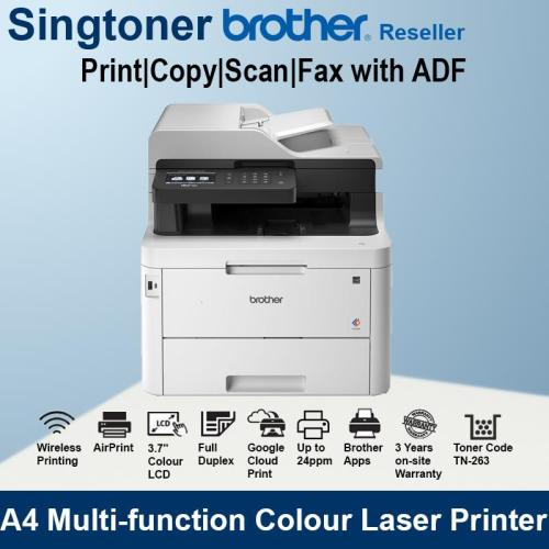 Brother MFC-L3770cdw All in One laser printer