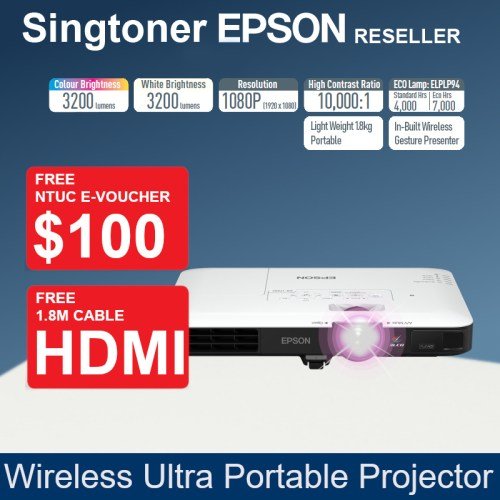 EPSON EB-1795F  projector V11H796052