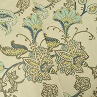 gray antique multi floral printed