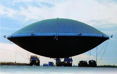 O aerostestato da Locomo Sky (http://singularityhub.com)