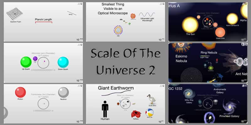"""The Scale Of The Universe 2″ Animation Made By 14-Year-Olds Is Mind Blowing"