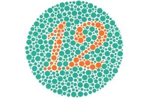 With O2Amps, red-green colorblind people were able to pass the Ishihara Color Test for the first time. [Source: Wikipedia]
