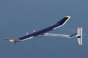 Solar Impulse solar powered plane.