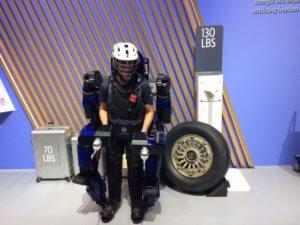Sarcos Robotics exoskeleton CES 2020