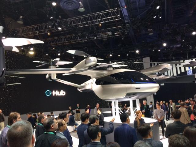 air taxi CES 2020 hyundai uber concept