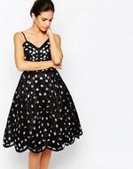 Silhouette robe de soirée
