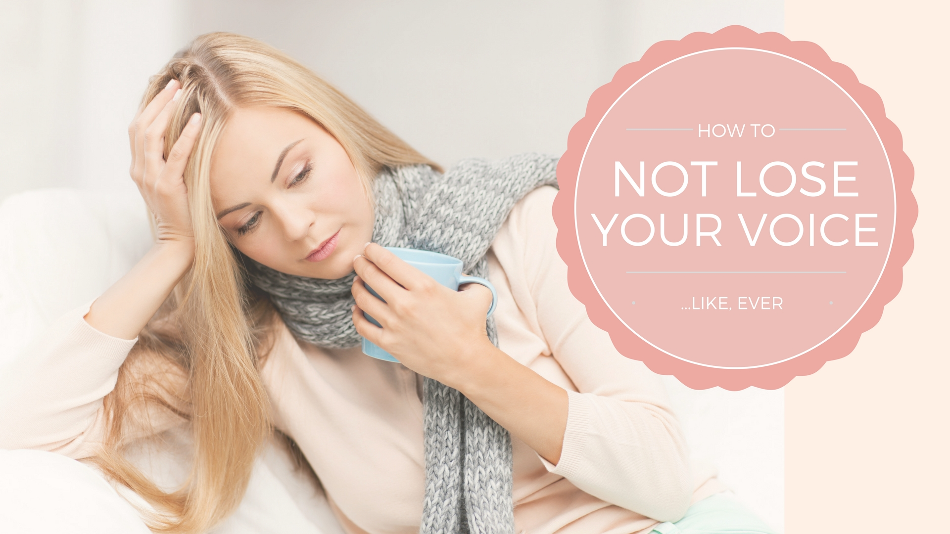 Go From Hoarse to Healthy & Ditch Vocal Rest For Good