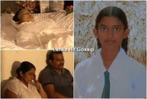 young girl dies from allergic after eating a cake in Anuradhapura