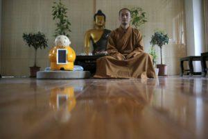 China designs robot monk