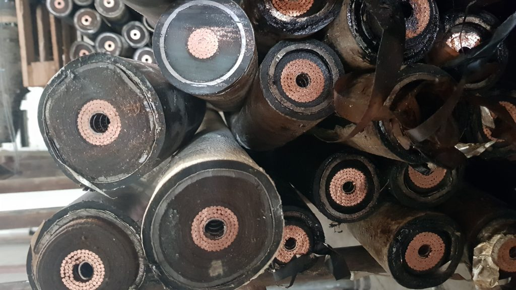 sell scrap cables