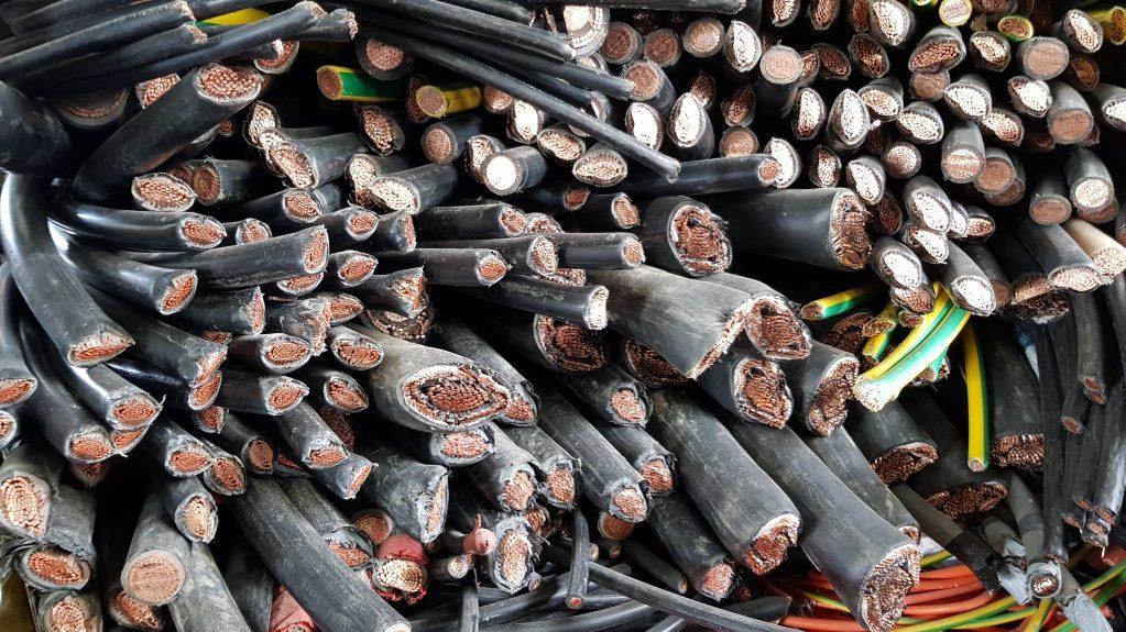 sell scrap copper cables