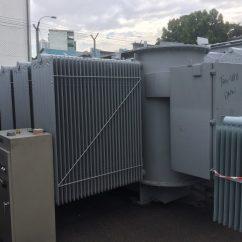 scrap industrial transformer