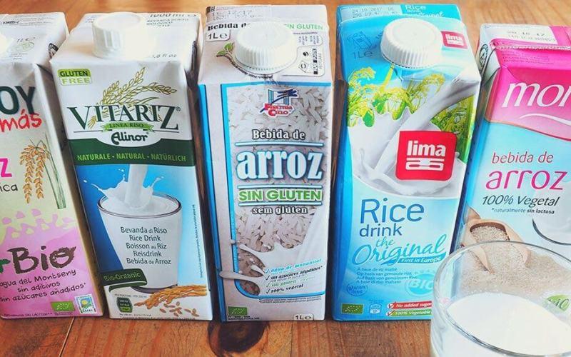 comparativa bebidas de arroz