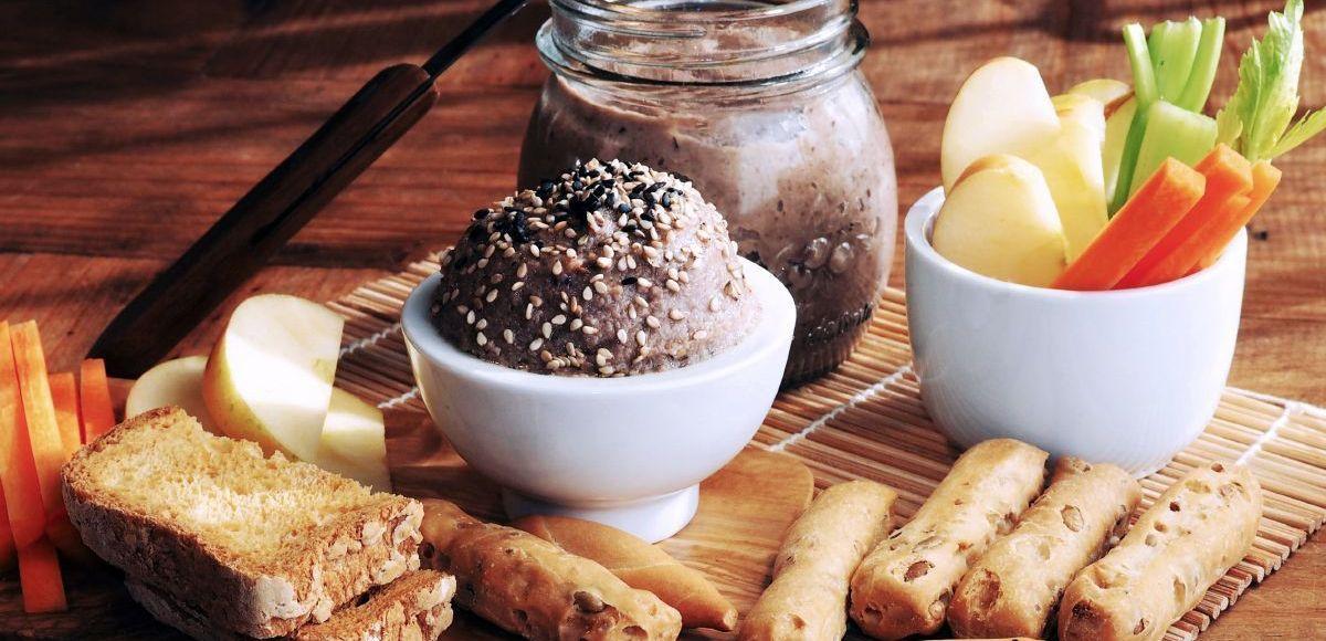 paté de shiitake y champiñones