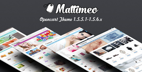 Mattimeo – Responsive OpenCart Theme