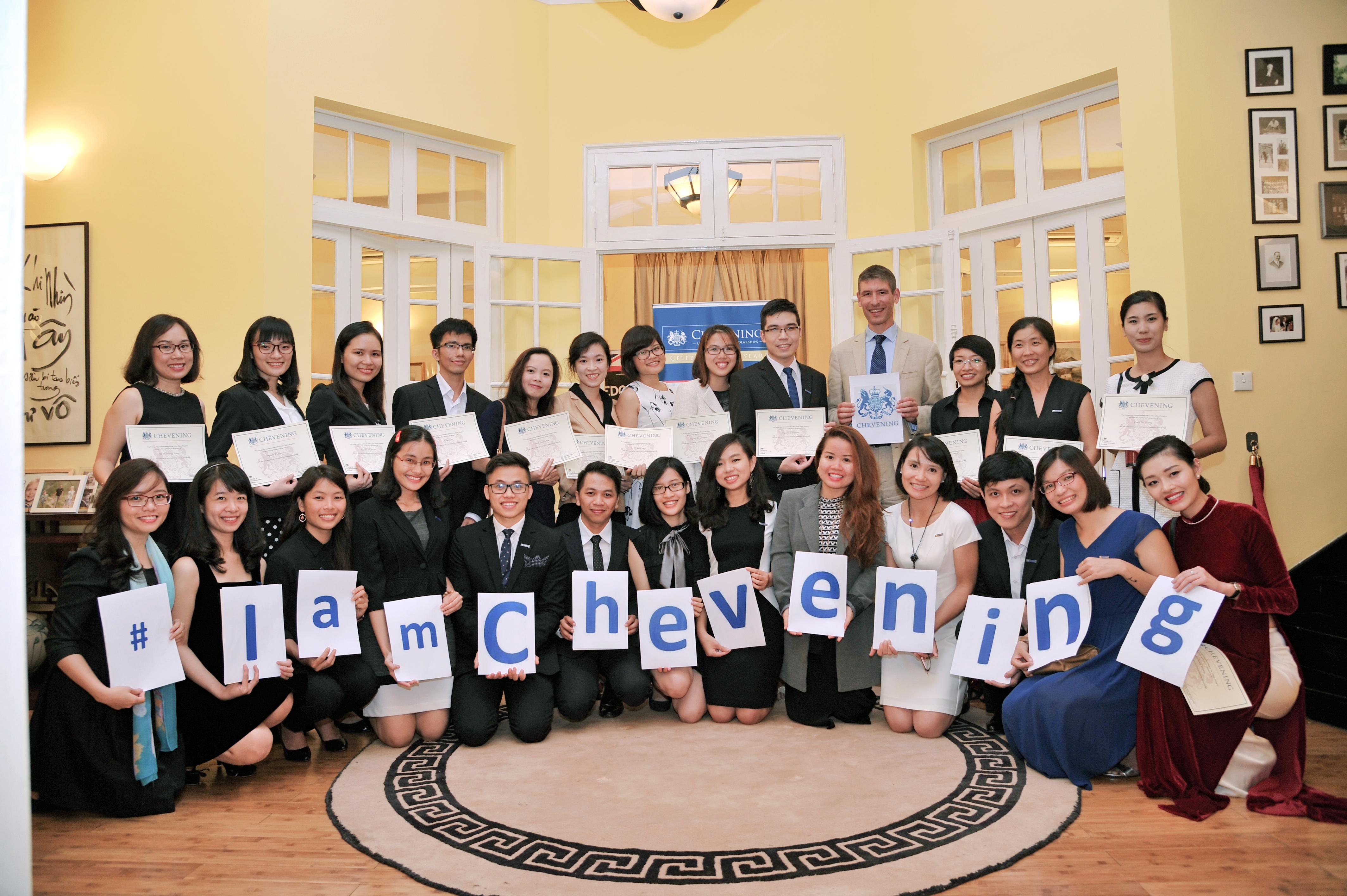 Chevening scholars 2015-2016