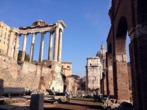 El Templo de saturno