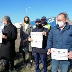 Türkiye – Bulgaristan Sınırında TIRcı Protestosu