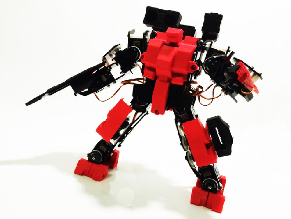 Perfect design to base a diy raspberry pi robot off of.