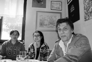 Andreja, Barbara, Ron