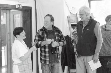 Irma Vidmar, Georg Brandner, Fritz Rathke