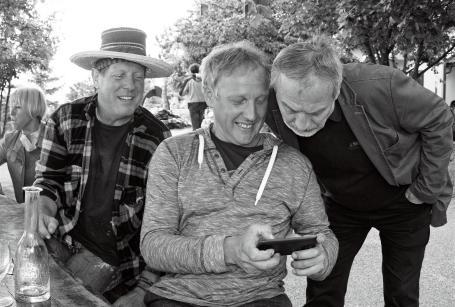 Georg Brandner, Serhiy Savchenko, Žarko Vrezec