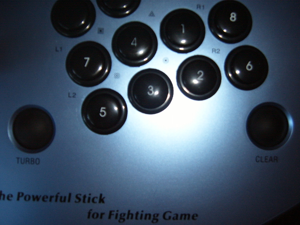 Turbo/Clear buttons