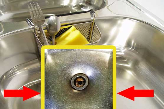 how to remove scratches from stainless