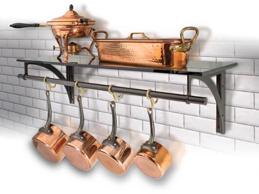 custom kitchen pot racks palmer