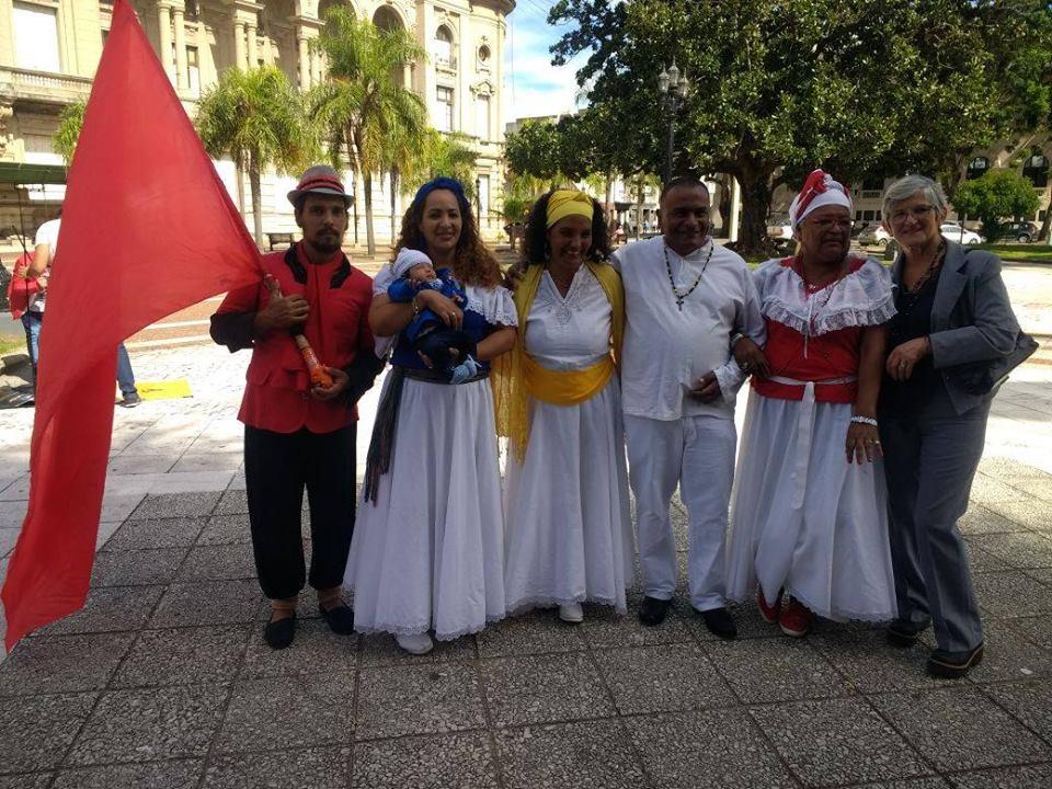 Conmemoran el día del Afroargentino del Tronco Colonial - Sin Mordaza