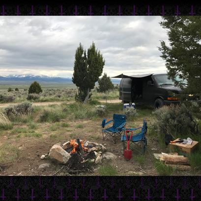 Idaho Van Camping