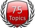 Start 75 Forum Topics Icon