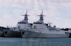 Type 052D Luyang-III DDG-173 Changsha DDG-175 Yinchuan